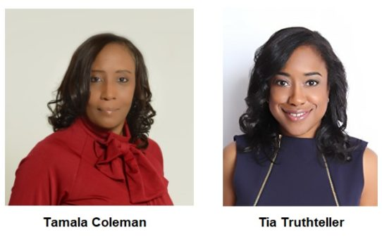 Tia Truthteller and Tamala Coleman