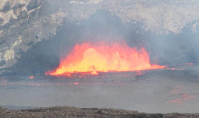 Kilauea Volcano Video